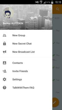 Talk With Them apk screenshot