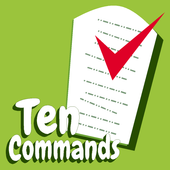 Ten Commandments 10 Commands icon