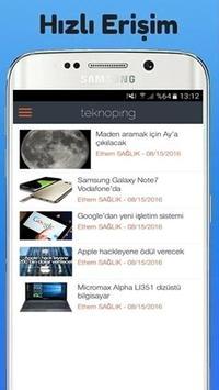 TeknoPing apk screenshot
