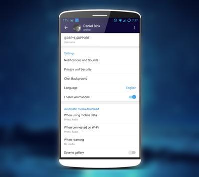 Telegram Prime ( unofficial ) apk screenshot