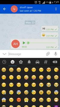 Telex Messenger apk screenshot