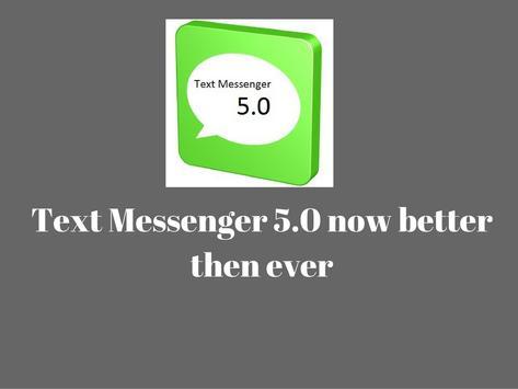 Text Messenger 5.0 poster