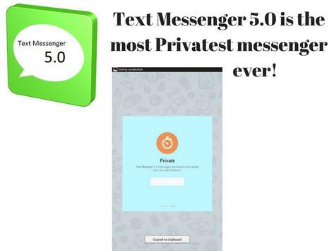 Text Messenger 5.0 apk screenshot