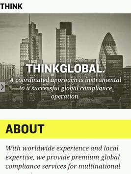 Think Global Compliance poster