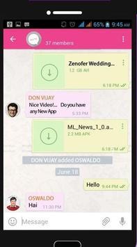 US Messenger apk screenshot
