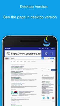 Ultimate 4G Browser apk screenshot