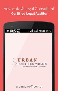 URBAN LAW OFFICE & PARTNERS poster