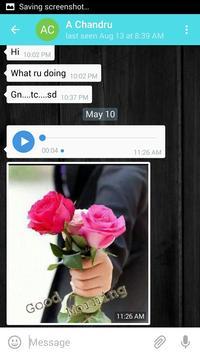 V chat messenger apk screenshot
