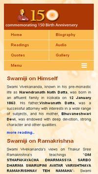 Swami Vivekananda apk screenshot
