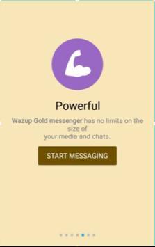 Watsapp Gold Messenger apk screenshot