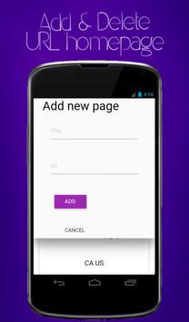 Web browser androideeapp apk screenshot