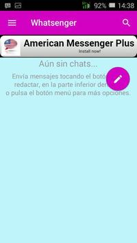Whatsenger apk screenshot