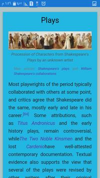 William Shakespeare apk screenshot