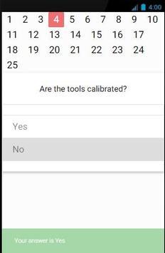 Wireline Checklist apk screenshot