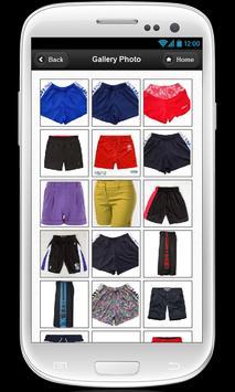 Womens golf shorts apk screenshot