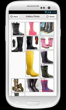 Womens rain boots apk screenshot