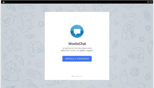 WoolisChat apk screenshot