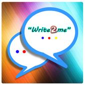Write2Me Messenger icon