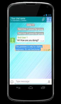 Write2Me Messenger apk screenshot