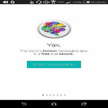 Yak. apk screenshot