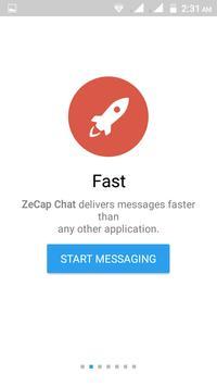 ZeCap Messenger apk screenshot