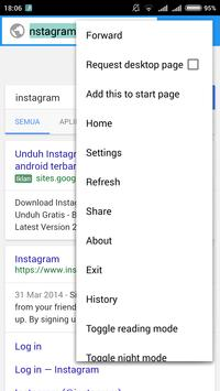 Zenko Browser apk screenshot