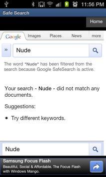 Safe Search apk screenshot