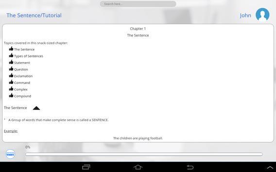 Grade 7 English apk screenshot