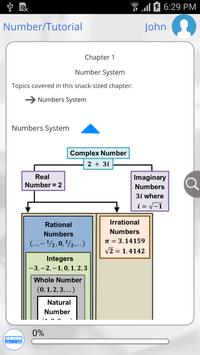 Grade 6 Math by GoLearningBus apk screenshot