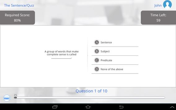 Grade 6 English apk screenshot