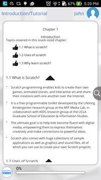 Scratch Programming via Videos apk screenshot