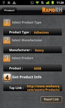 RH Spec apk screenshot