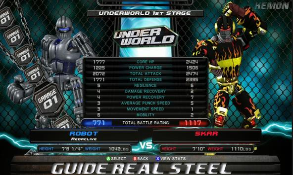 "Guide"" For REAL STEEL poster"