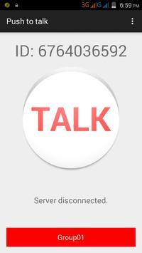 VOIXZ a Wifi Walkie Talkie apk screenshot