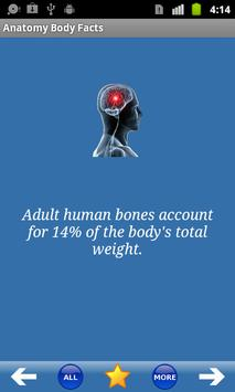 Anatomy Body Facts poster