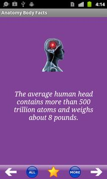 Anatomy Body Facts apk screenshot
