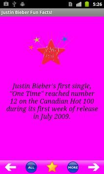 Justin Bieber Fun Facts! poster