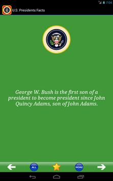 U.S. Presidents Facts! apk screenshot