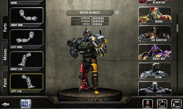 Tips Real Steel WRB apk screenshot
