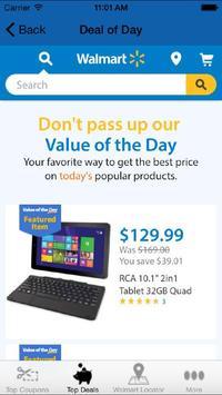 Coupons for Walmart apk screenshot