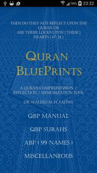 Quran BluePrints poster