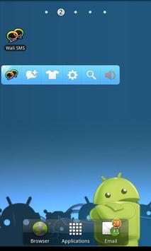 Wali SMS Application apk screenshot