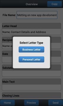 Wallet Letter apk screenshot