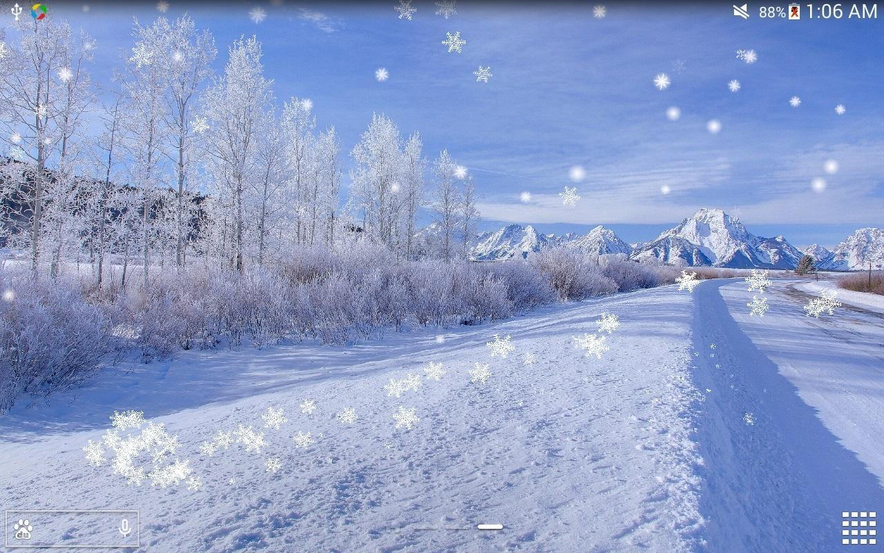 winter snow live wallpaper hd christmas snow live wallpaper snow live