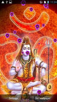 Shiva MagicTouch LiveWallpaper apk screenshot
