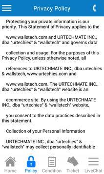 WallsTech apk screenshot