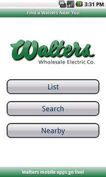 Walters Wholesale Electric poster