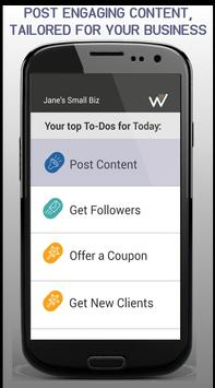 Wannabiz - Small BIZ Marketing apk screenshot