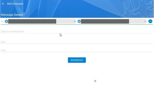 SMS Schedular (Send Later) apk screenshot