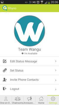 Wangu Messenger apk screenshot